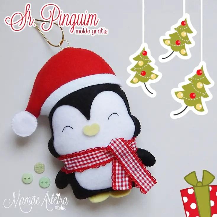 Ping ino navide o de fieltro dale detalles - Plantillas para manualidades de fieltro navidad ...
