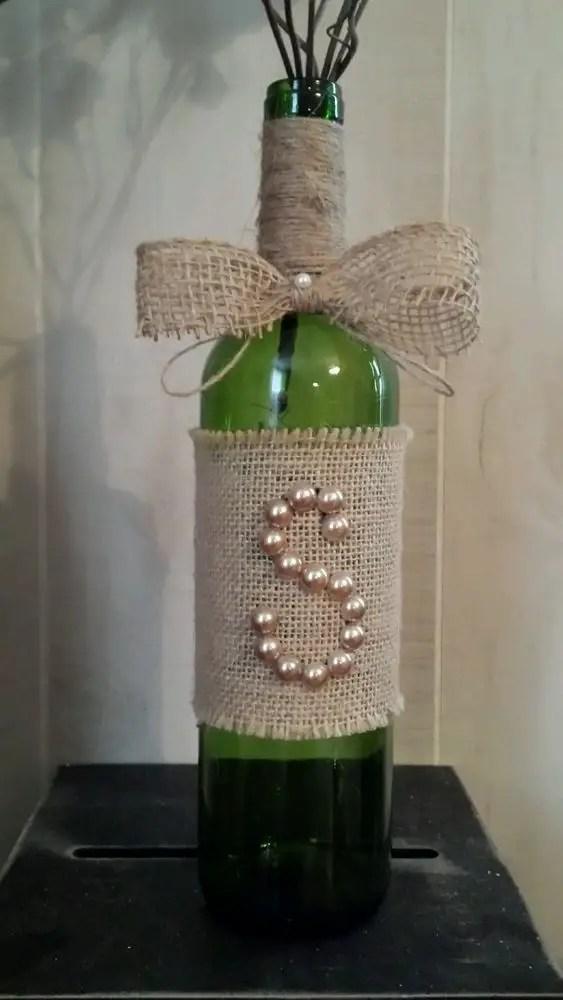 Decora Botellas Con Hilo R 250 Stico Y Yute Dale Detalles