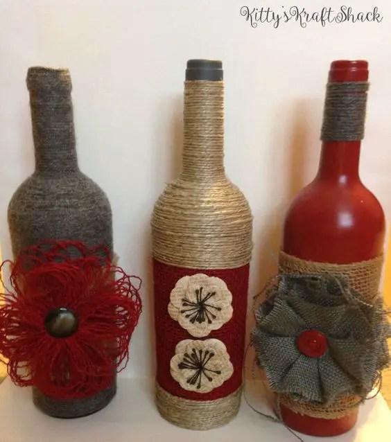 Decoraciones De Botellas De Vidrio Para Graduacion