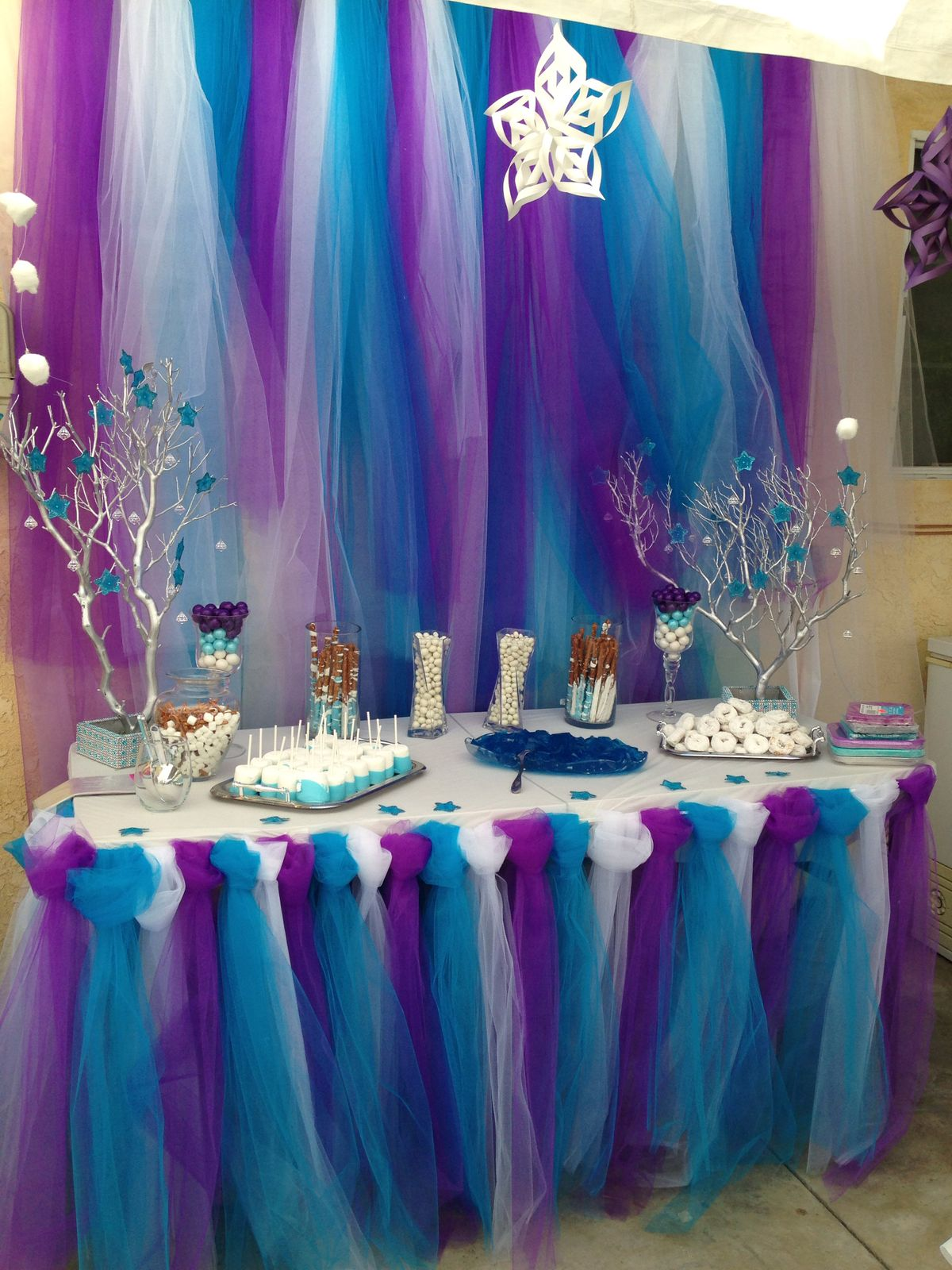 Usa tul para decorar tus fiestas dale detalles - Decoracion para foto ...