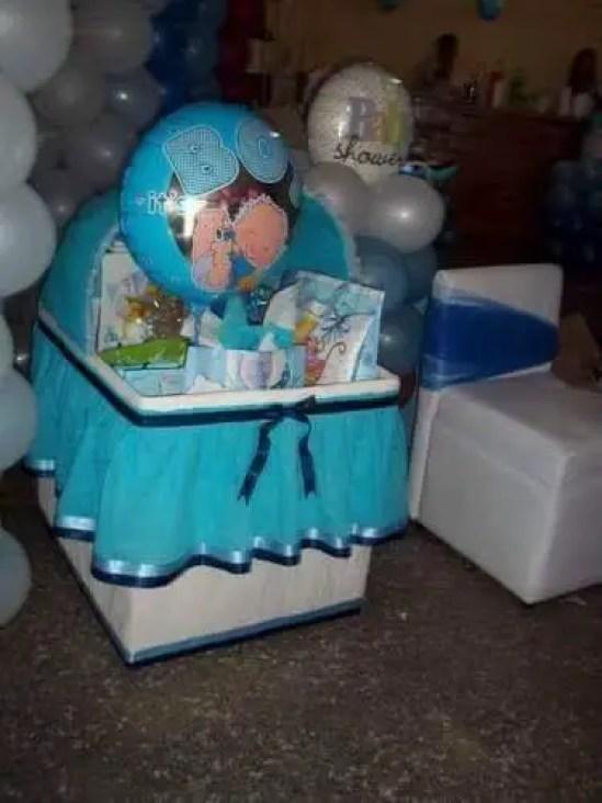 Cunitas de cartn para baby shower Dale Detalles