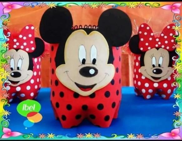 Mouse Minnie De Para Moldes Cortar