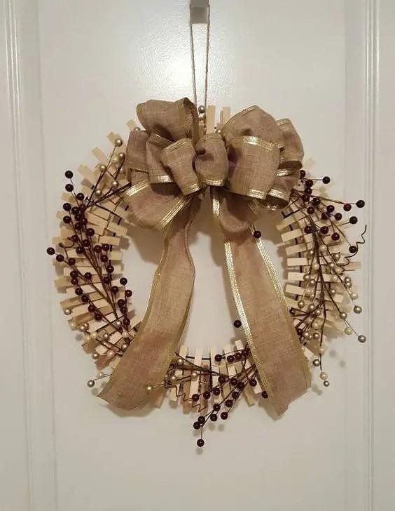 decora con adornos navideos de tu preferencia - Coronas De Navidad