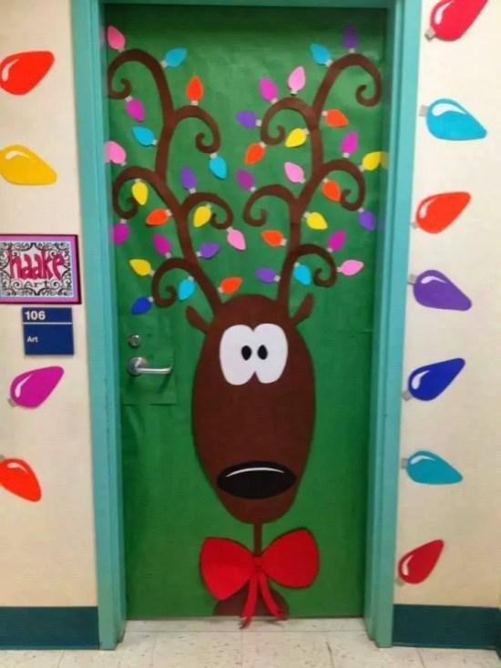 Manualidades Para Decorar Puertas En Navidad.Ideas Para Decorar Puertas Escolares En Navidad Dale Detalles