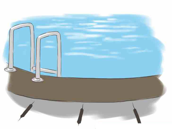 كشف تسربات المياه في حمام السباحة