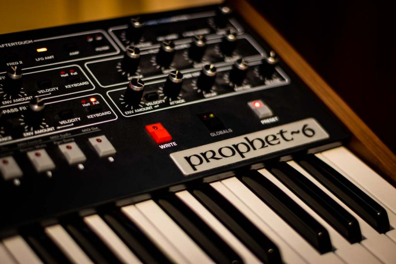 The Prophet 6 Analog Synth