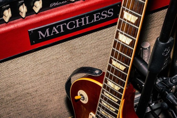 Matchless Phoenix 35 and Gibson Les Paul