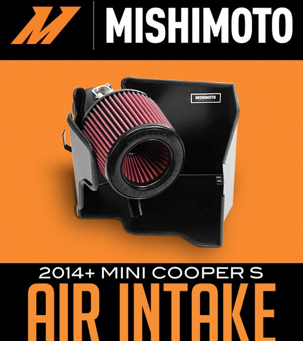 MISHIMOTO PERFORMANCE AIR INTAKE: 2014+ MINI COOPER S at Dales Motorsport