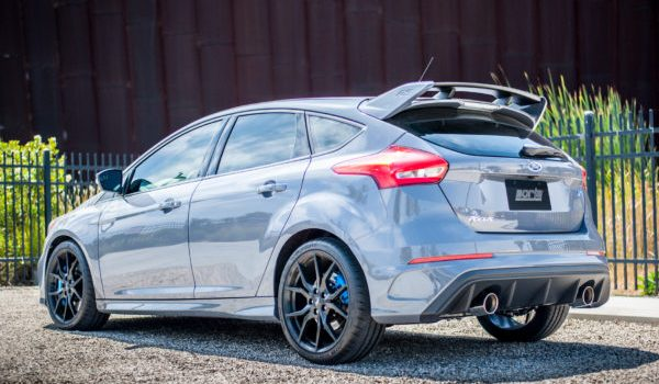 BORLA PERFORMANCE S-TYPE CAT-BACK EXHAUST: 2016-17 FORD FOCUS RS 2.3L