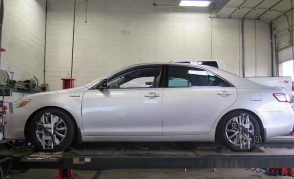 Toyota Camry Hybrid in for Tein Lowering Springs
