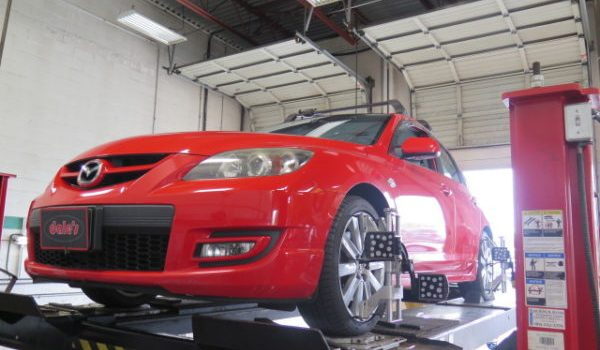 Mazdaspeed 3 in for Koni and Whiteline Suspension Upgrades