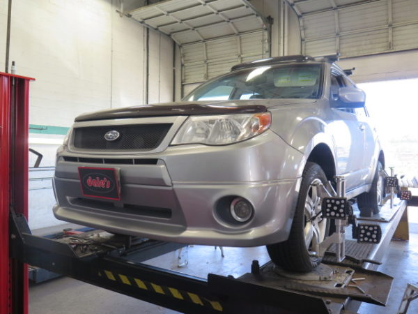 Subaru Forester with new KING Lift Springs at Dales Auto Service