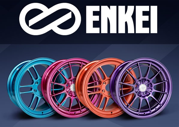 CUSTOM FACTORY FINISHED ENKEI WHEELS NOW AVAILABLE