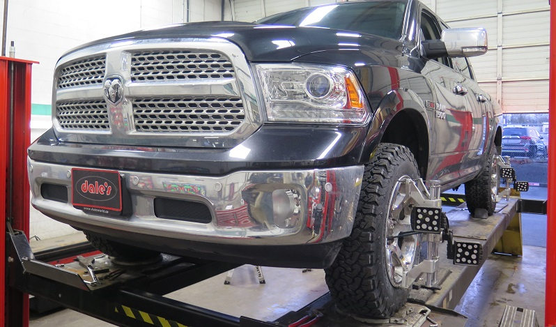 Ram 1500 in for Bilstein 5100 and Rear TTC HD Coilsprings