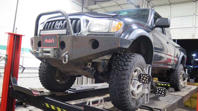 "Toyota Tacoma in for 3"" Lift, 1-piece Driveshaft Conversion"