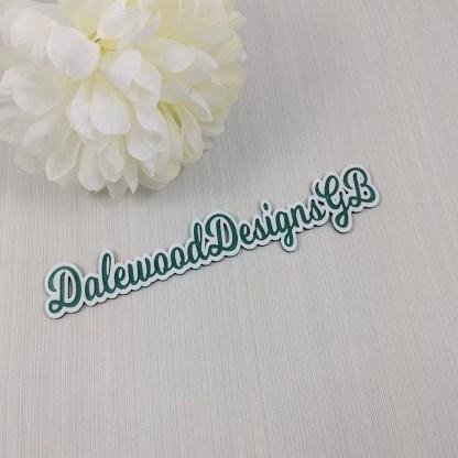 Dalewood Designs GB photo prop