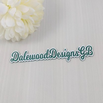Dalewood Designs GB company name photo prop