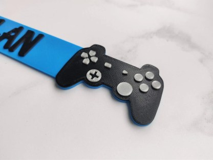 Game controller bookmark - top