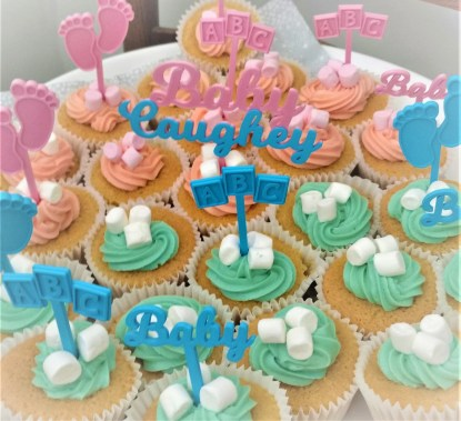 Personalised Baby shower cake decorations, baby shower cake topper, baby boy decoration, baby girl decoration, baby keep sake 1