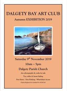 Dalgety Bay Art Club - Autumn Exhibition 2019 Saturday 9 November 2019