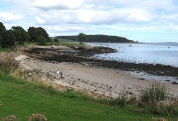 Dalgety Bay New Harvour by sailing club
