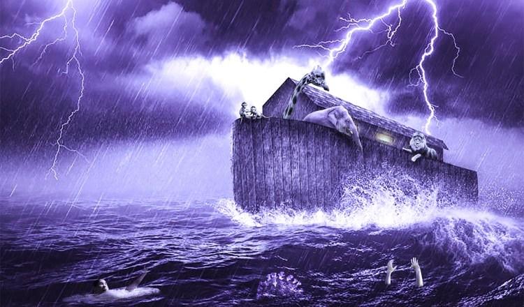 Noah's Art in a storm