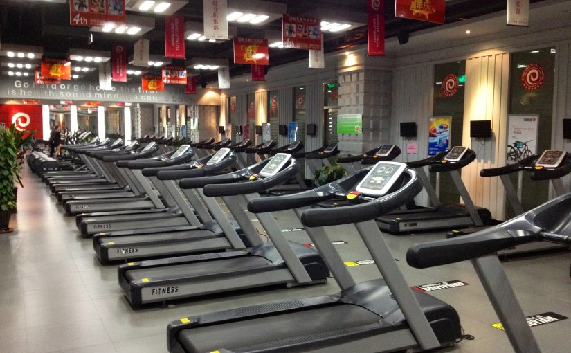 Pics of Dalian: Gym
