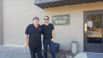 With Grammy Engineer Mark Pinske at Skylab in Gainseville FL