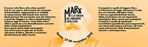 Gli errori di Marx   di Rino Genovese  e  Le due possibili teorie della soggettività in Marx   di Roberto Finelli