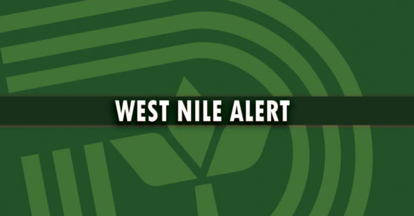 DCHHS Reports Eighth Human Case of West Nile Virus