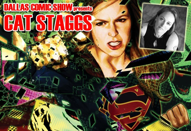 SUPERGIRL and WONDER WOMAN artist Cat Staggs comes to DCS Feb 11-12