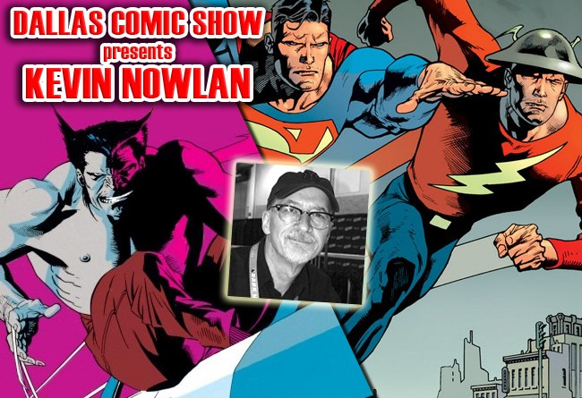 GREEN LANTERN, WOLVERINE and DOCTOR STRANGE artist Kevin Nowlan hits DCS Feb 11-12