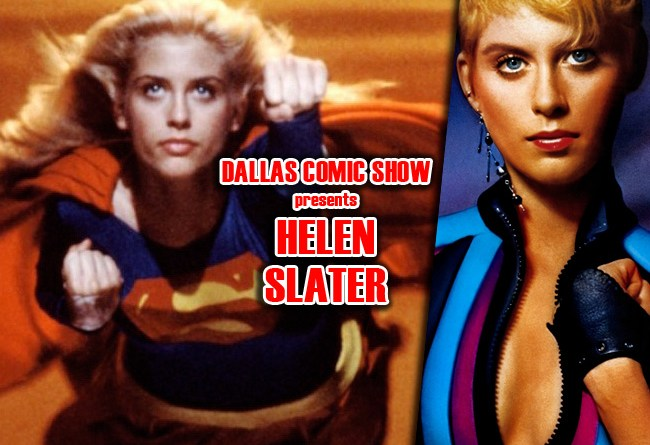 SUPERGIRL and THE LEGEND OF BILLIE JEAN star Helen Slater comes to DCS Feb 11-12!