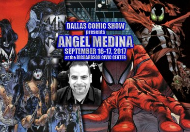 SPAWN, VENOM and SPIDER-MAN artist Angel Medina comes to DCS Sept 16-17