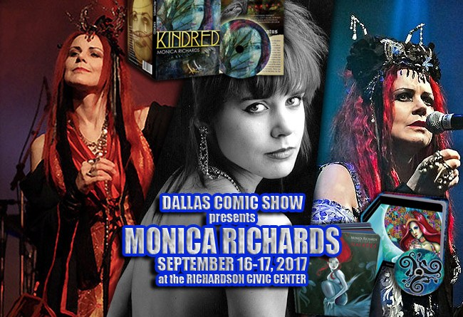 Goth Music Icon and Folk Art Goddess Monica Richards comes to DCS Sept 16-17