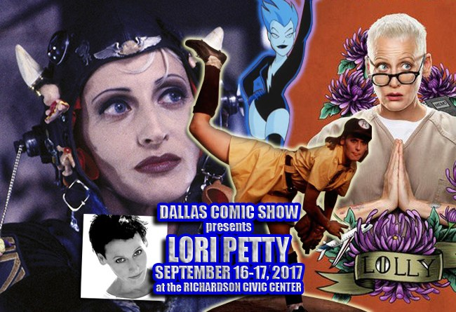 TANK GIRL and ORANGE IS THE NEW BLACK star Lori Petty joins DCS Sept 16-17!