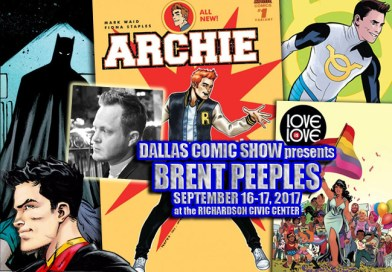 NEW SUPER-MAN and LOVE IS LOVE artist Brent Peeples comes to DCS Sept 16-17