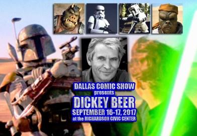 "STAR WARS ""Boba Fett"", 007 and INDIANA JONES master stuntman Dickey Beer comes to DCS Sept 16-17"