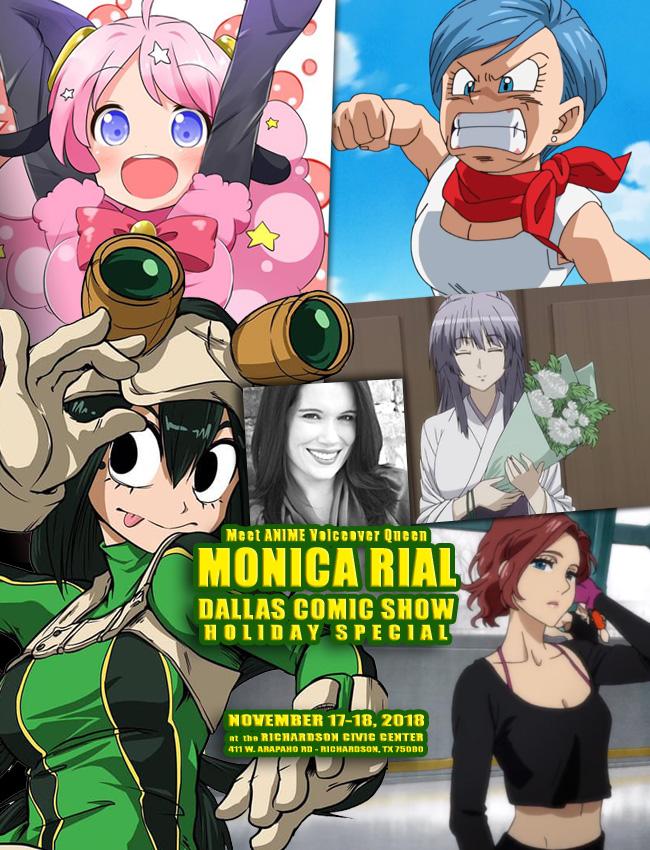 Meet Anime Voice Actress Dragon Ball Z Hello Kitty Monica Rial At