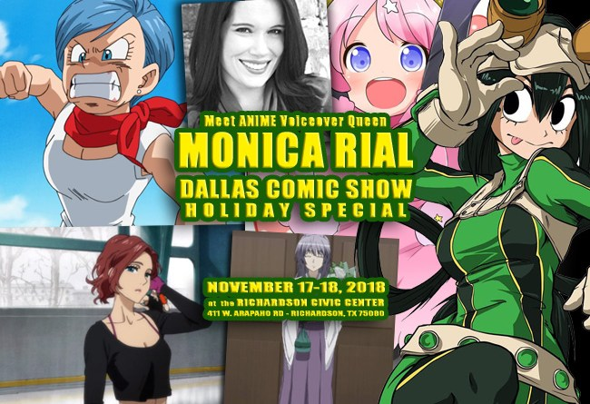 Meet Anime Voice Actress Dragon Ball Z Hello Kitty Monica Rial At Dcs Nov 17 18 Dallas Comic Show Mirajane strauss is a character from fairy tail. meet anime voice actress dragon ball z