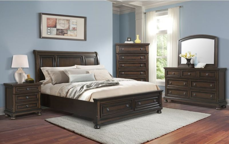 Elements Kt600 Kingston Bedroom Set With Storage Bed