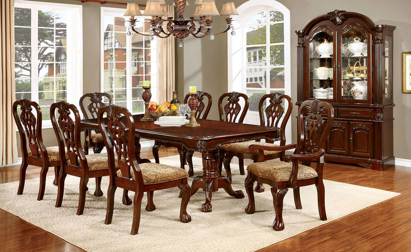 Furniture Of America CM3212T Elana Formal Dining Room