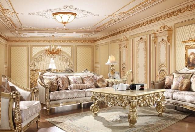 Homey Design   HD-2019 Tristan Formal Living Room Set ...