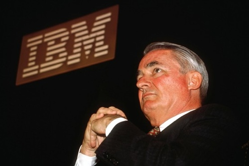 Remembering IBM CEO John Akers