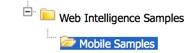 SAP BI 4.1 Mobile Samples