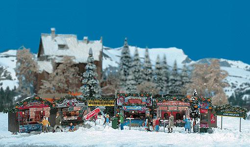Christmas Fair Street Scene By Busch Gmbh Und Co Kg