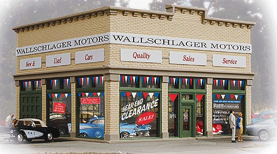 Wallschlager Motors By Walthers