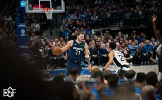 Dallas Mavericks take on the Los Angeles Clippers, on January 21, 2020, at American Airlines Center in Dallas, Tx. (Photos by Michael Lark/Dallas Sports Fanatic)