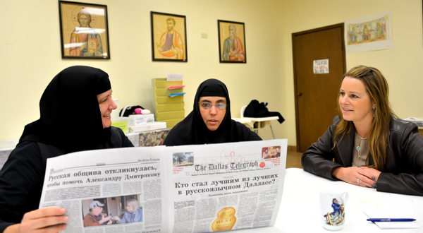 The Dallas Telegraph is a part of St. Seraphim Orthodox Cathedral's spiritual life