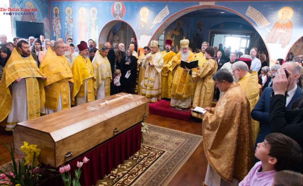 Re-interment of Archbishop Dmitri at St. Seraphim Orthodox Cathedral